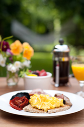Breakfast at the Two Rose Midhurst Bed & Breakfast